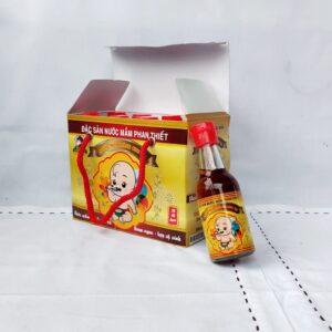 Nước mắm dành cho trẻ em, hộp 8 chai, dung tích 60 ml