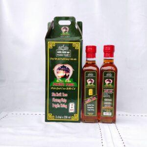 Mắm đặc biệt - 30 độ đạm - chai thủy tinh - 250ml - hộp 0.5 lít 2 chai - dành cho người lớn
