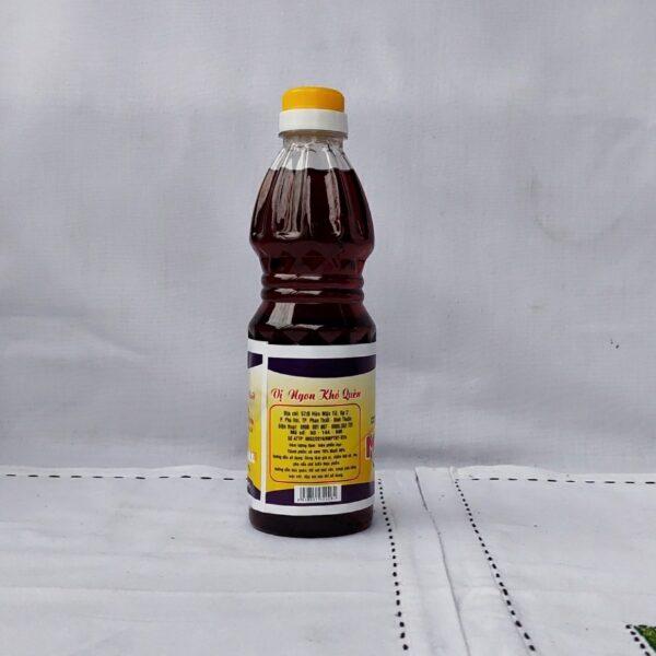 Nước mắm hảo hạng, 25% độ đạm, chai nhựa, dung tích 500ml, dùng cho người lớn